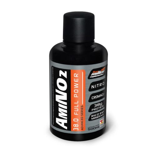Amino No2 38.0 Full Power - 500ml Cereja Preta - New Millen