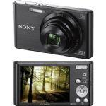 Câmera Digital Sony Cyber shot DSC-W830 20.1 Megapixels Preta