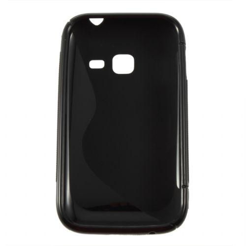 Capa para celular TPU Gel Silicone S Line Preto - Samsung Galaxy Ace Duos S6802