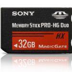 Cartão de Memória Stick 32GB Pro Duo