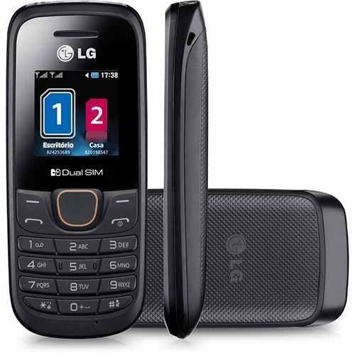 Celular LG A-275 2 Chips Desbloqueado Preto