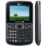 Celular LG C299 4 CHIPS Preto