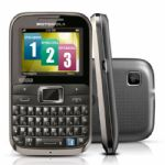 Celular Motorola EX117 3 Chips Preto