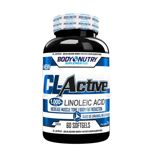 Body Nutry Cl Active Linoleic Acid 60 Cápsulas