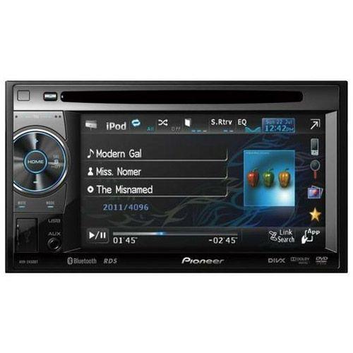 DVD Automotivo Pioneer AVH 2450BT 5.8 USB Ipod