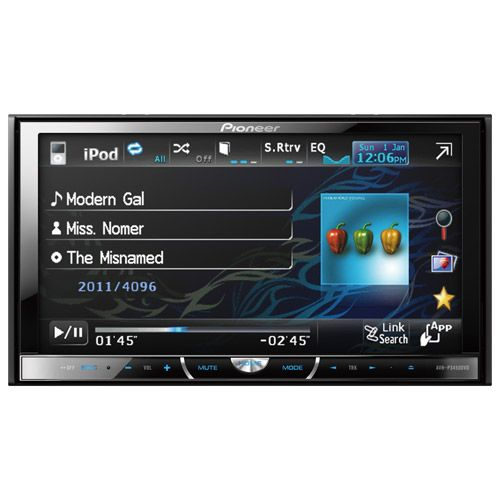 DVD Automotivo Pioneer AVH 3450 7 USB Ipod