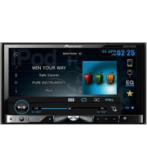 DVD Player Automotivo Pioneer P8450BT Entrada USB SD 7 Pol