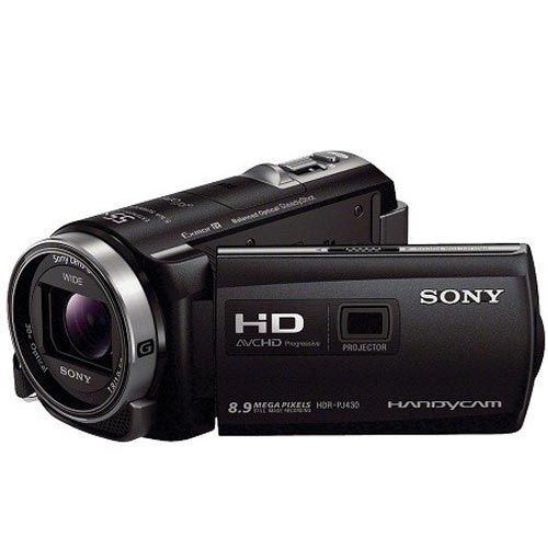 Filmadora Sony HDR-PJ430 32GB Com Projetor Preta