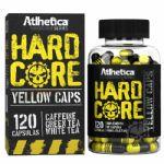 Hardcore Yellow Caps Hardcore Series - 120 cápsulas 420mg Cafeína - Atlhetica