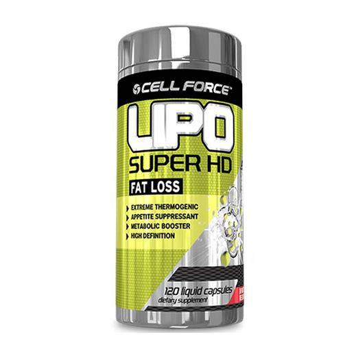 Lipo Super HD - 30 Cápsulas - Cell Force
