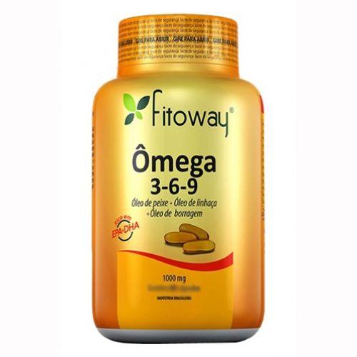 2c6f256fbf4 Omega 3-6-9 Fitoway - 120 Cápsulas - Fitoway - www.lojautil.com.br