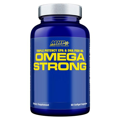Mhp Omega Strong 60 Softcapsules