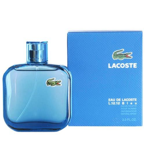 Perfume L.12.12 Bleu Lacoste Eau de Toilette Masculino 100 ml - www ... e9a78ae845
