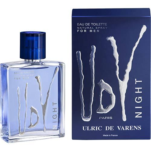 Perfume UDV Night Ulric De Varens Eau de Toilette Masculino 100 ml