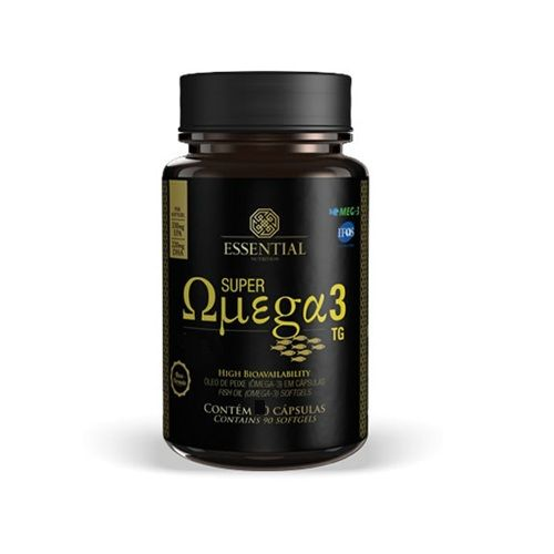 Super Ômega 3 TG - 120 cápsulas de 500mg - Essential Nutrition