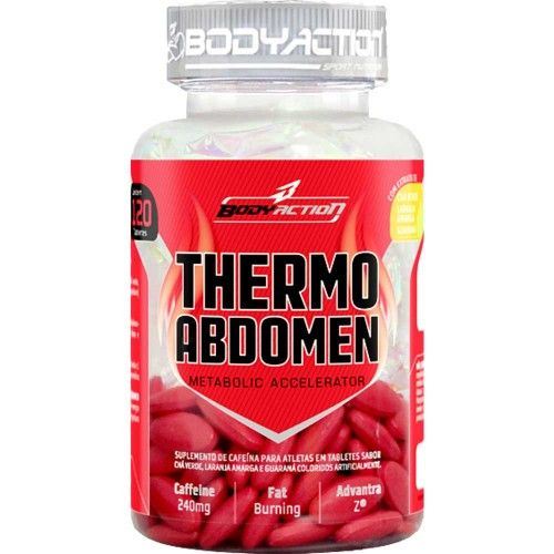Thermo Abdomen - 120 tabletes - Body Action