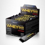 Whey Bar Low Carb - Caixa 24 unidades 40g Sabor Cookies - Probi�tica