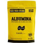 Albumina - 500g Refil Banana - Naturovos*** AVARIA EMBALAGEM ***  Data Venc. 06/01/2023