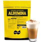 Albumina Refil - 1000g Café Mocaccino - Naturovos*** AVARIA EMBALAGEM *** Data Venc. 30/04/2023