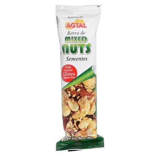 Barra de Cereal - Mixed Nuts Semente 1 unidades - Agtal*** Data Venc. 25/08/2018