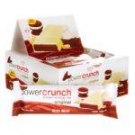 Barra de Proteina Power Crunch - 12 Unidades Red Velvet - BNRG