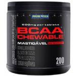 BCAA Chewable Mastigável 600mg - 200 Tabs Limão - Probiótica