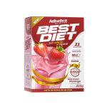 Best Diet  - 350g Milk Shake Morango - Atlhetica Nutrtion