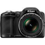 Câmera Digital Nikon Coolpix L830 16.0 Megapixels Zoom ótico Preta