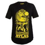 Camiseta Atlas Long - Preta Tamanho G - Iridium Labs