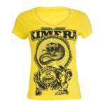 Camiseta Feminina Baby Look - Iridium Labs Kimera Amarelo M - Iridium Labs