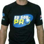 Camiseta No Pain No Gain - Preta Tamnho P  - Probiótica