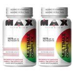 Combo 2 - Multimax Complex - 90 cápsulas - Max Titanium