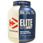 Elite 100% Whey Protein - 2300g Gourmet Vanilla - Dymatize Nutrition