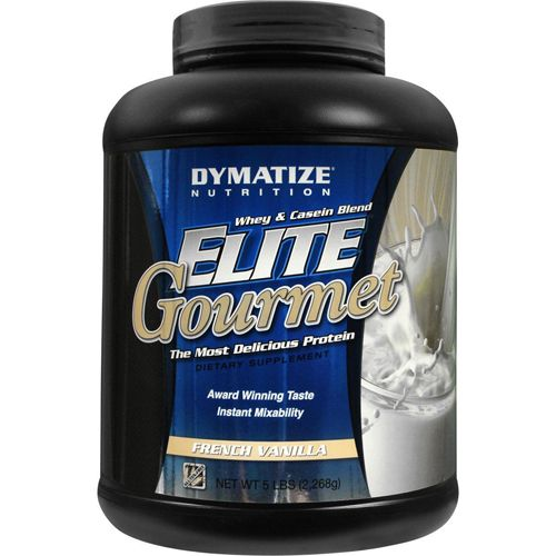 Elite Gourmet - 2267g French Vanilla - Dymatize Nutrition