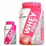 kit Whey Pro-F Iogurte com Frutas Vermelhas + BCAA 90 Cápsulas BodyAction