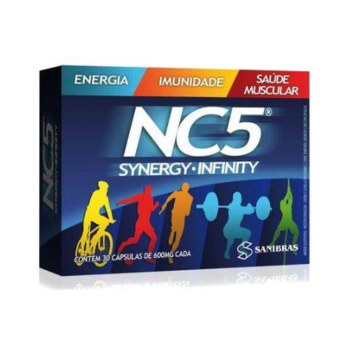 NC5 Synergy Infinity  - 30 Cápsulas - Sanibras