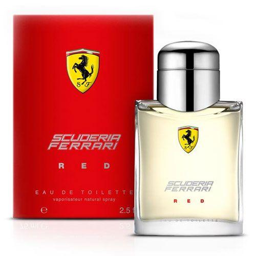 Perfume Scuderia Red Ferrari Eau de Toilette Masculino 75 ml