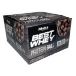 Protein Ball Best Whey - 12 Unidades Chocolate ao Leite - Atlhetica Nutrition