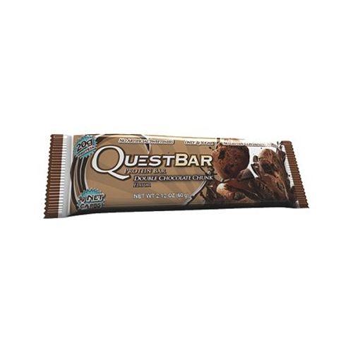 QuestBar Protein - 60g - Duble Chocolate Chunk - Quest Nutrition*** Data Venc. 08/02/2018