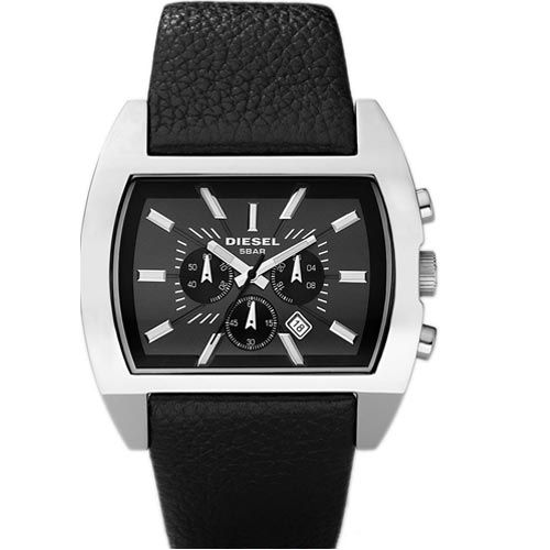 Relógio Diesel Analógico Leather Quartz Watch DZ4140