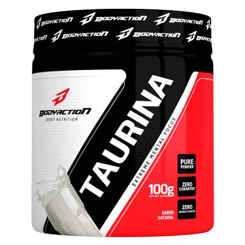 Taurina - 100g Natural - Body Action