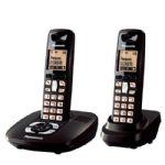 Telefone Sem Fio Panasonic KX-TG4062 Preto