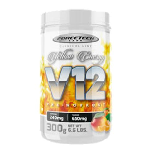 V12 Pre - Workout - 300g Yellow Energy - Forcetech Labs