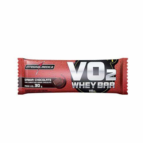 VO2 PROTEIN BAR Chocolate - 1 barra de 30g - Integralmédica*** Data Venc. 30/08/2018