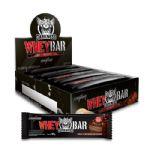 Whey Bar Darkness - Caixa 8 unidades 90g Chocolate Amargo/Castanha - Integralmédica