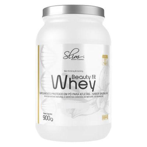 Whey Beauty Fit - 900g Morango - Slim Weight Control