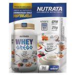 Whey Grego - 1 Sachê de 40g Iogurte Natural - Nutrata*** Data Venc. 30/07/2021