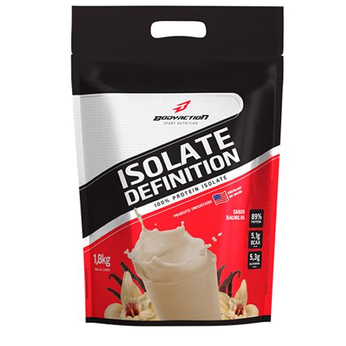Whey Isolate Definition - 1800g Baunilha - BodyAction