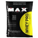 Whey Pro - 1500g Refil Morango - Max Titanium